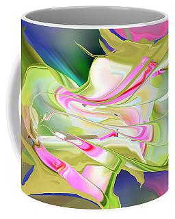 Flower Song Abstract Coffee Mug