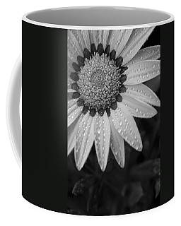 Flower Water Droplets Coffee Mug