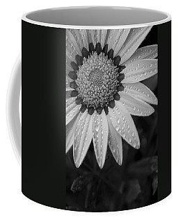 Flower Water Droplets Coffee Mug by Ron White