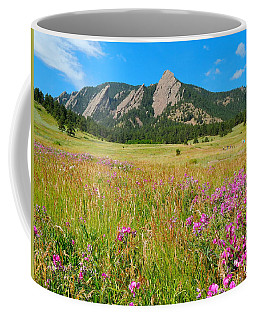 The Flatirons Colorado Coffee Mug