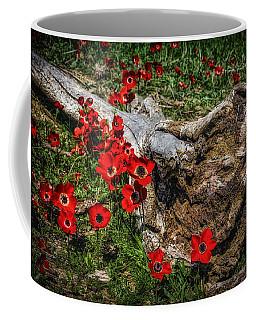 Flowers And Monster Coffee Mug