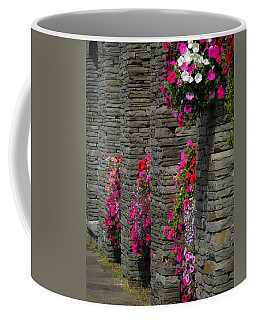 Flowers At Liscannor Rock Shop Coffee Mug