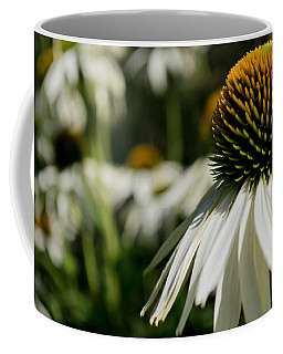 Flowers - Echinacea White Swan Coffee Mug