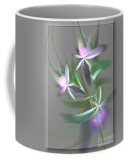 Coffee Mug featuring the digital art Flowers For You by Svetlana Nikolova