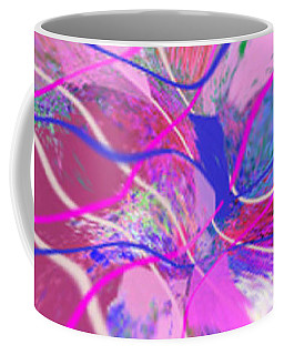 Original Contemporary Abstract Art Flowers From Heaven Coffee Mug