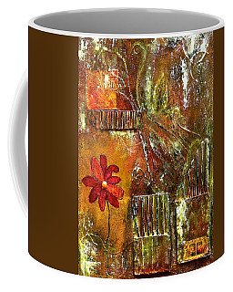 Flowers Grow Anywhere Coffee Mug