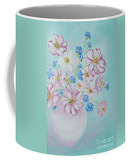 Flowers In A Vase. Inspirations Collection Coffee Mug