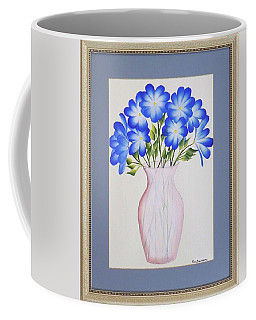 Flowers In A Vase Coffee Mug by Ron Davidson