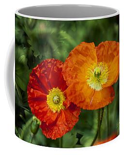 Coffee Mug featuring the photograph Flowers In Kodakchrome by Gunter Nezhoda