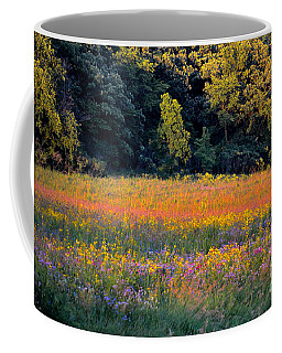 Flowers In The Meadow Coffee Mug by Deb Halloran