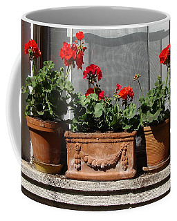 Coffee Mug featuring the photograph Flowers Of New York by Ira Shander