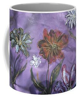 Flowers On Silk Coffee Mug