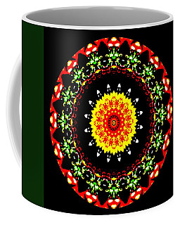 Flowerscope Coffee Mug