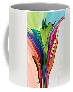 Flowery 5 Coffee Mug by Rabi Khan