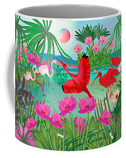 Flowery Lagoon - Limited Edition 1 Of 20 Coffee Mug