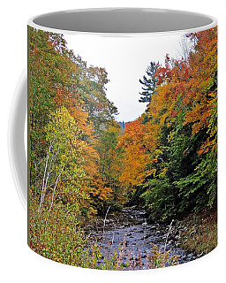 Flowing Into October Coffee Mug by MTBobbins Photography