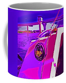 Floyd Pink And Purple Coffee Mug