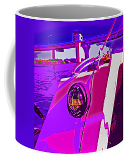 Floyd Pink And Purple Coffee Mug