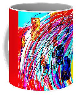Fluid Motion Pop Art Coffee Mug