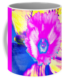 Fluorescent Daffodil  Coffee Mug