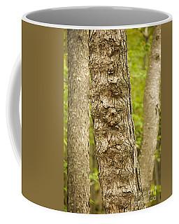 Fluted Tree Coffee Mug