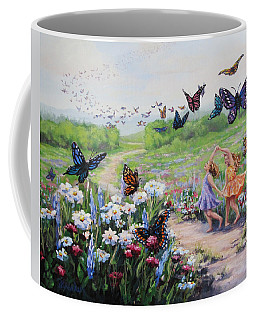 Flutterby Dreams Coffee Mug