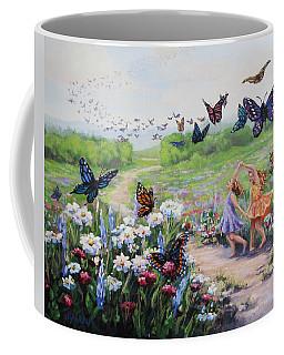 Flutterby Dreams Coffee Mug