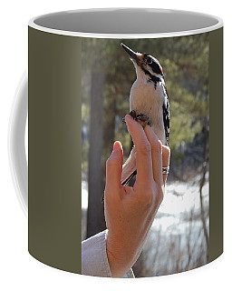 Coffee Mug featuring the photograph Fly Away by Mim White