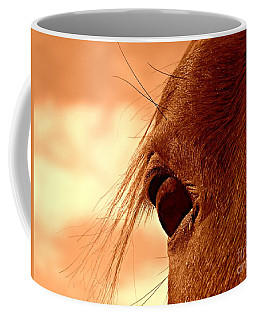 Fly In The Eye Coffee Mug by Clare Bevan