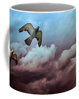Flying Before The Storm Coffee Mug