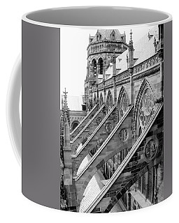 Flying Buttresses Bw Coffee Mug
