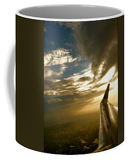 Flying Clouds By David Pucciarelli Coffee Mug