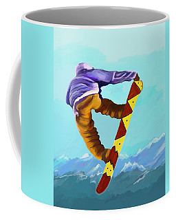 Flying High Coffee Mug by Jeanne Fischer