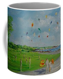 Flying Kites Newport Ri Coffee Mug