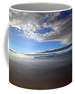 Flying Over Southern California Coffee Mug