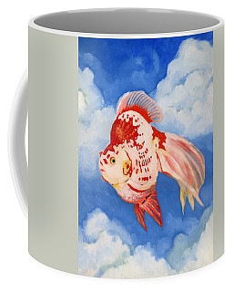 Flying Ryukin Coffee Mug