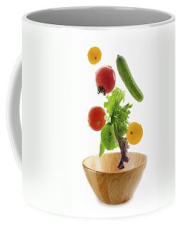 Flying Salad Coffee Mug