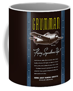 Grumman Flying Squadrons Up Coffee Mug