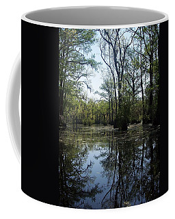 Flying Through The Mirror Coffee Mug