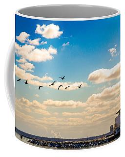 Flying To Discovery Coffee Mug