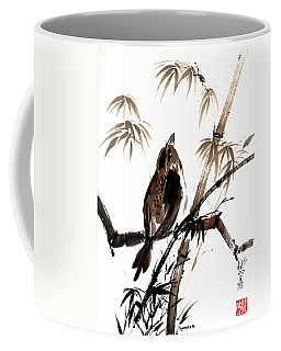 Coffee Mug featuring the painting Focus by Bill Searle