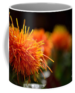 Focused Safflower Coffee Mug