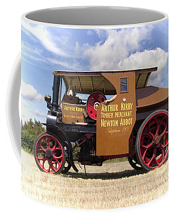 Coffee Mug featuring the photograph Foden Tractor by Paul Gulliver