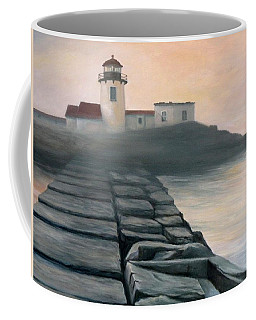Fog Burning Off Coffee Mug by Eileen Patten Oliver