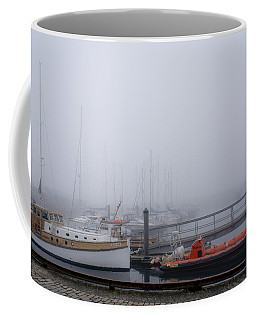 Fog In Marina IIi Coffee Mug