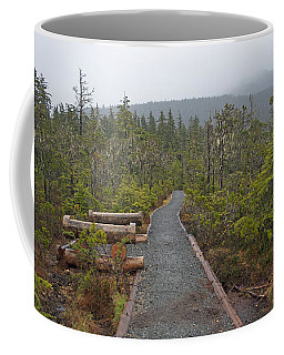 Fog On The Trail Coffee Mug by Cathy Mahnke