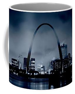 Fog Over St Louis Monochrome Coffee Mug