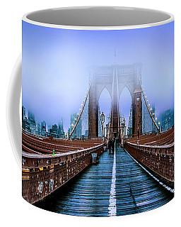Fog Over The Brooklyn Coffee Mug