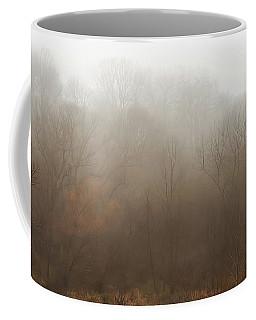 Fog Riverside Park Coffee Mug