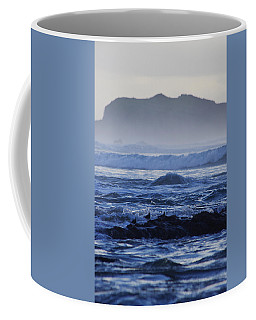 Coffee Mug featuring the photograph Fog Rolling In by Adria Trail